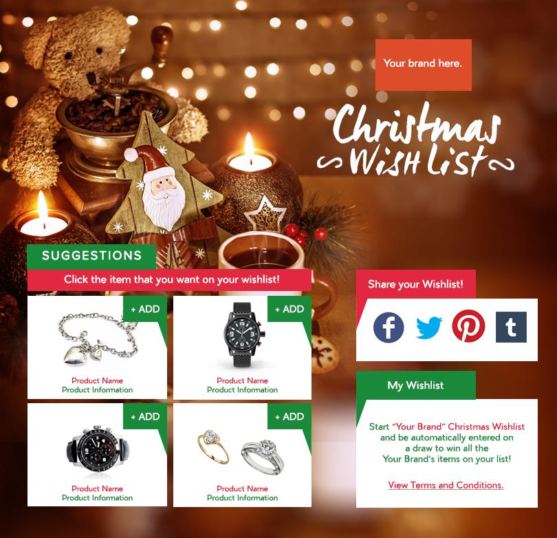 2 - Christmas Wishlist