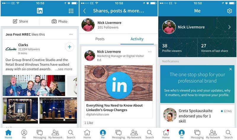 LinkedIn-iOS-Changes