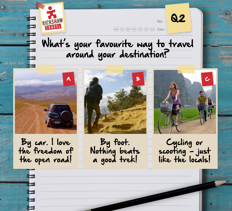 rickshaw travel facebook application